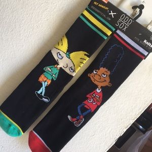 ODD SOX Hey Arnold Socks